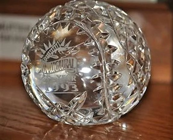 Limited Edition Waterford Crystal 1993 Florida Marlins