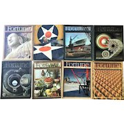 1941  Fortune Magazine  Eight Issues  PEARL HARBOR