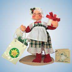 1995 Annalee Mrs. Santa Mrs. Claus CHRISTMAS