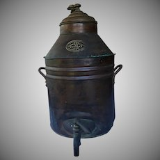 RARE 1879-1890 Smith and Anthony Copper Coffee Urn