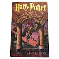 Harry Potter and the Sorcerer's Stone 1998 FIRST EDITION - HC/DJ First American Edition