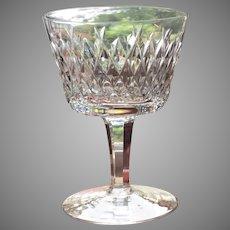 "SET-8 Waterford Cocktail Cordial RARE Pattern  Slane  4 1/8""  Think Holidays"