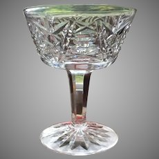 """SET-8 Waterford Cocktail Cordial 3 3/4"""" CLARE PATTERN Exceptional"""
