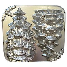 LARGE SIZE Nordic Ware Christmas Tree Cake Pan 3D Mold
