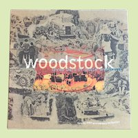 Woodstock Three Days Of Peace and Music (25th Anniversary Collection) 4 CD Box Set plus a lg booklet circa 1994 THINK GIFT