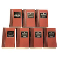 The History of the Decline and Fall of the Roman Empire Circa 1974 SET of SEVEN VOLUMES  First American Edition Edward Gibbon