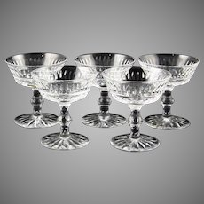 SET OF THREE Waterford Tramore c.1969 Champagne / Sherbet Signed Ireland