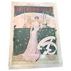 The Delineator DECEMBER 1901 Christmas Issue Recipes Fashion Prints Patterns Victorian ALL COMPLETE