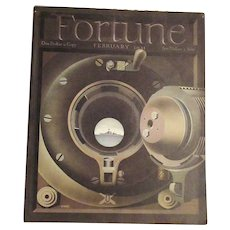 Feb. 1941  WWII  Fortune Magazine  Cover by Giusti  Military