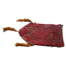 Nomadic  Tribal Bag / Carpet  circa 1890's  Hand Woven