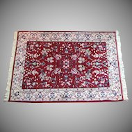 """4'x2'9"""" Oriental Rug  Handmade  100% Wool VINTAGE"""