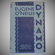 First Edition c.1929 Dynamo  Eugene O'Neill  3-Act Play  DJ
