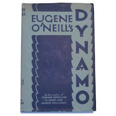 First Edition c.1929 Dynamo  3-Act Play Eugene O'Neill  Original Dust Jacket