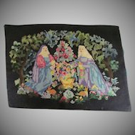 Victorian Needlepoint Tapestry