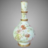 "c.1890 Royal Worcester Vase  9"" Blush Ivory"