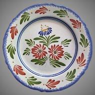 """Keraluc QUIMPER Plate Vintage  10"""""""