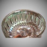 c.1910 RARE Hawkes Bowl Cut Glass  4 lbs.