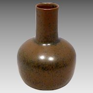 1950s Saxbo Denmark Studio Pottery Vase by Eva Staehr-Nielsen