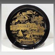 Rare 1893 Columbian Expo Papier Mache' Tray