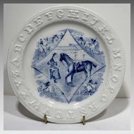 Staffordshire ABC Plate Horses For Sale or Hire
