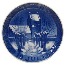 1946 Royal Copenhagen Christmas Plate