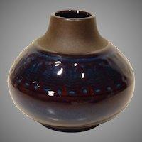 Mid-Century Soholm Denmark Pottery Vase by Einar Johansen