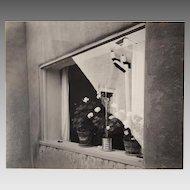 Gerry Sharpe 1961 Signed Original Photograph Georgia O'Keeffe's Window
