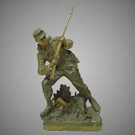 Civil War Soldier 19th Century Sculpture