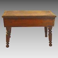 19th Century Miniature Cherry Wood Table