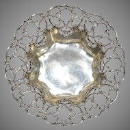 Magnificent Vintage Large Towle Sterling Open Work Bowl