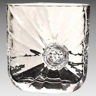 Early Sunburst Vase by Rune Strand for Hovmantorp Sweden