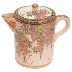 Satsuma Wisteria Individual Teapot