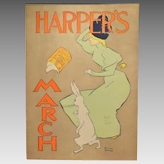 Edward Penfield Harper's March 1895 Poster