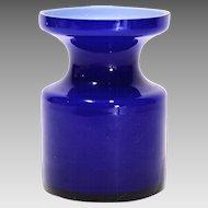 1967 Mod Cased Glass Vase by Per Olof Strom Alsterfors Glass Sweden