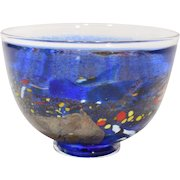Kosta Art Glass Satellite Bowl by Bertil Vallien