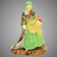 "Tuscan China Art Deco Porcelain Figure ""Sweet Nell"""