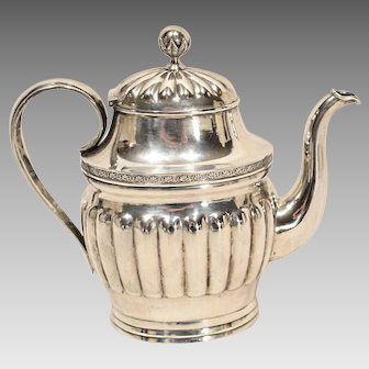 Antique  Silver Teapot from Finland