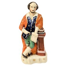 William Shakespeare Staffordshire Figure