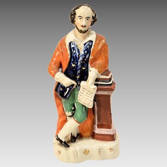 William Shakespeare Staffordshire Figure