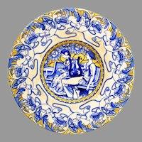 Frederick A. Rhead The Foley Faience Art Nouveau Plaque