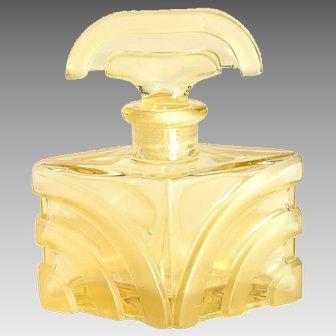 Czech Art Deco Perfume Bottle