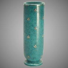 Gustavsberg Sweden Argenta Pottery Vase