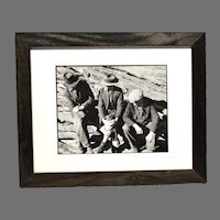 "Depression Era Regionalist Photograph by J.W. McManigal ""Discussion"""