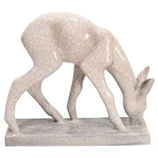 Karlsruhe Ceramics Deco Deer Figure