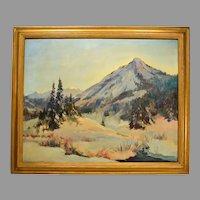Mountain Landscape by Florence E. Ware Utah Artist