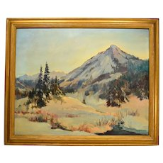Mountain Landscape by Florence E. Ware Utah Artist