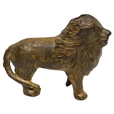 A C Williams Cast Iron Lion Bank
