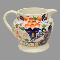 Gaudy Welsh Oyster pattern Pitcher