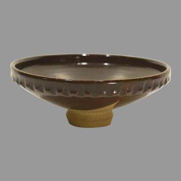 William Hoffman Studio Pottery Pedestal Vase