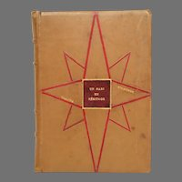 French Inlaid Leather Art Deco Binding